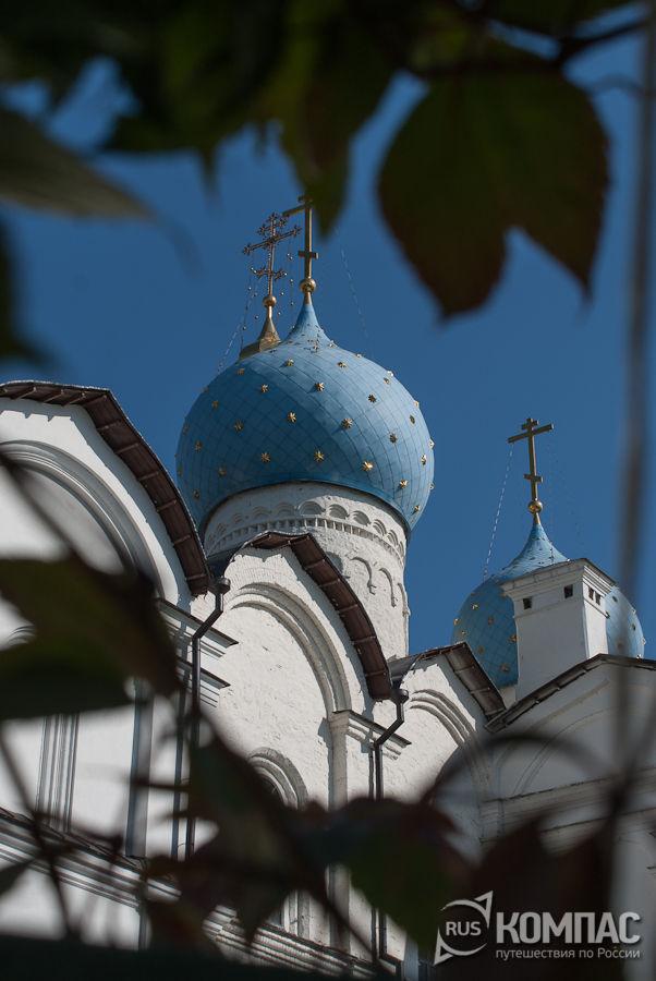 Купола Благовещенского собора в Кремле