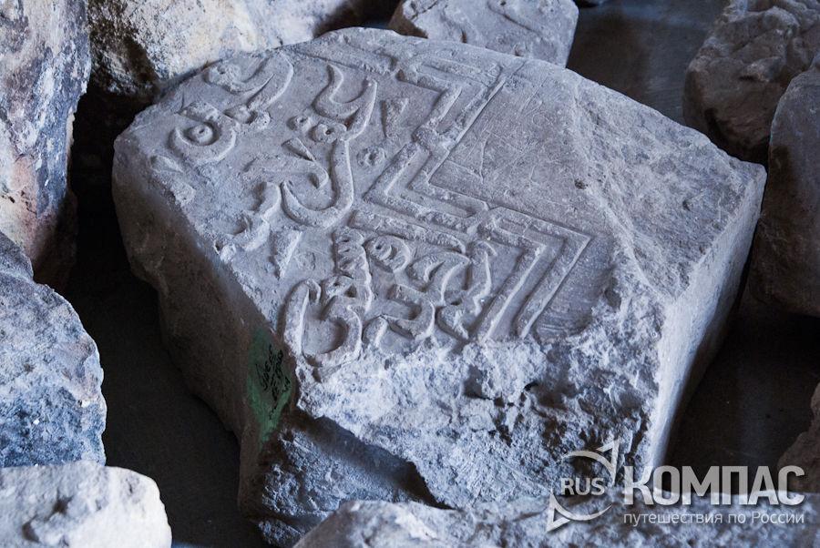 Эпиграфические памятники в Северном мавзолее