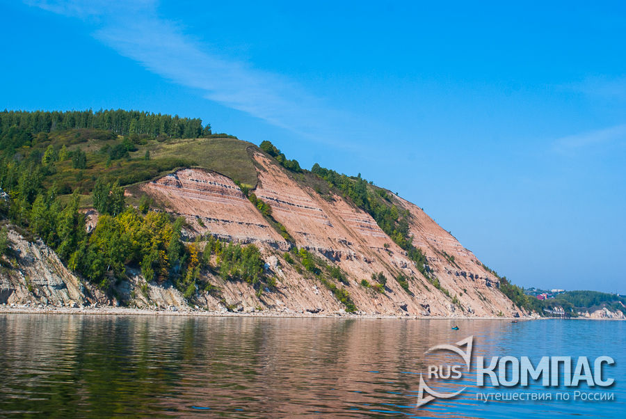 Берега Камского устья