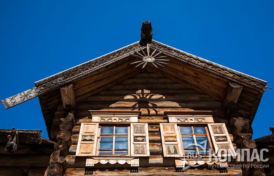 Малые Корелы  музей деревянного зодчества на Русском