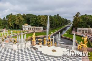 Петергоф. Верхний сад и Нижний парк