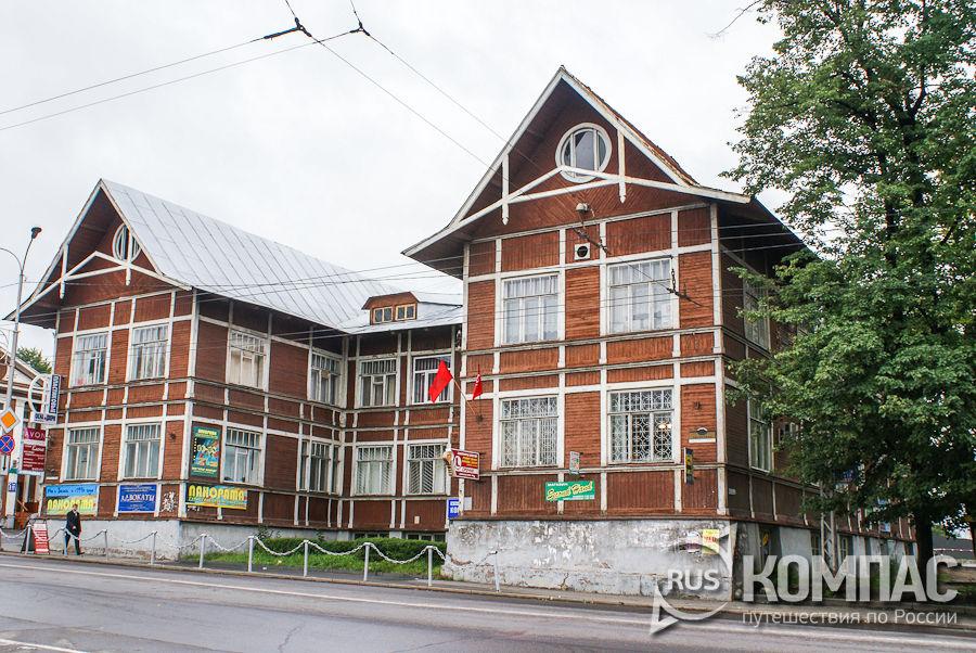 Проспект Ленина 22а, памятник деревянной архитектуры