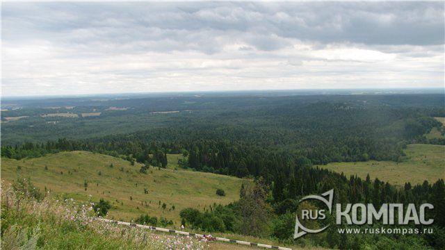 Вид с Белой Горы от монастыря