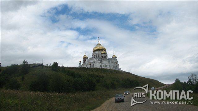 Крестовоздвиженский собор Белогорского Николаевского мужского монастыря