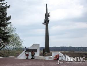 Памятник тарусянам, погибшим на фронтах Великой Отечественной войны