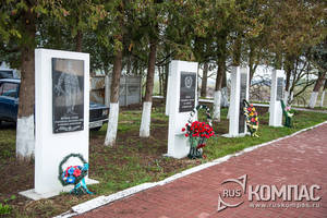 Памятник тарусянам, погибшим на фронтах