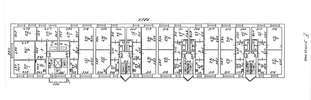 План 2 этажа жилого дома на проспекте Ленина, 52, корпус 2а