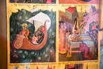 Деталь палехской житийной иконы Николая Чудотворца