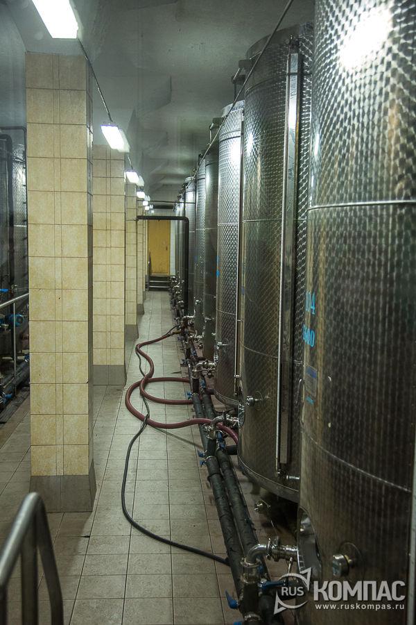 Цех термообработки вина