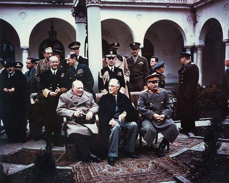 Крымская (Ялтинская) конференция