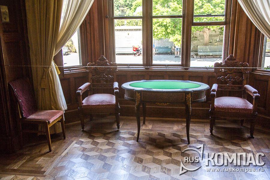 Эркер в кабинете графа Воронцова