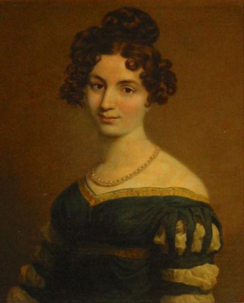 Портрет Елизаветы Ксаверьевны Воронцовой