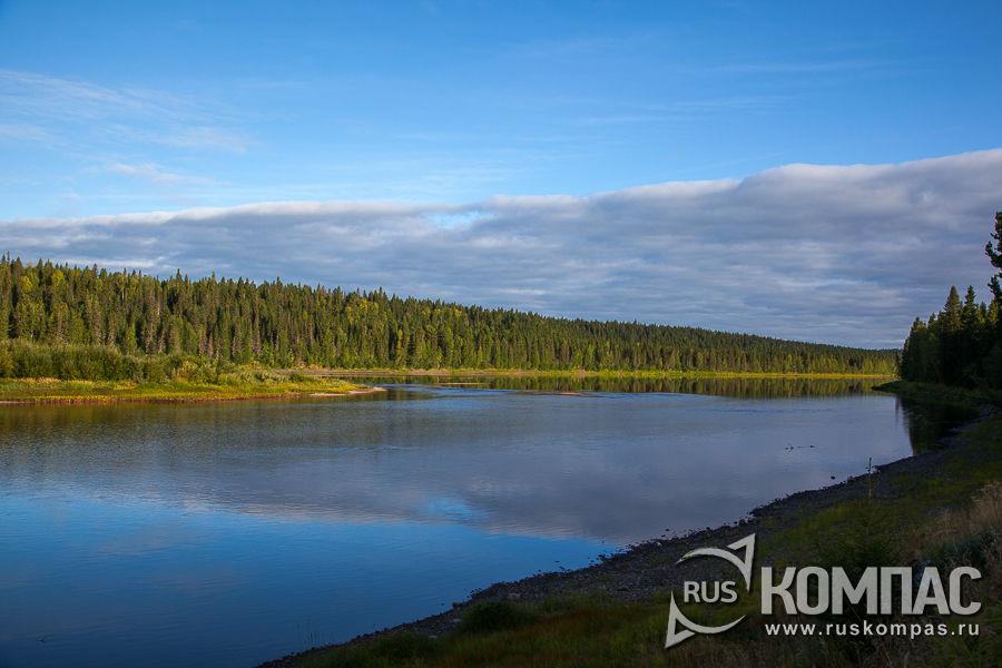 Утро на реке Илыч