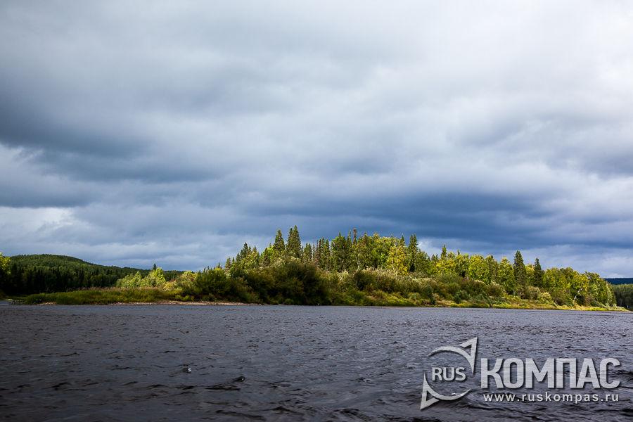 Берега реки Илыч
