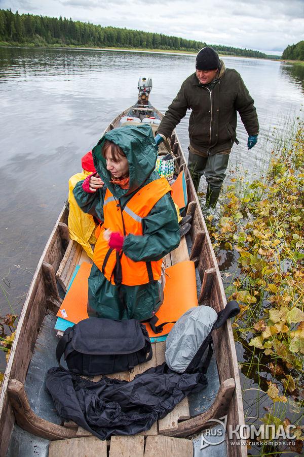 На лодке по реке Илыч