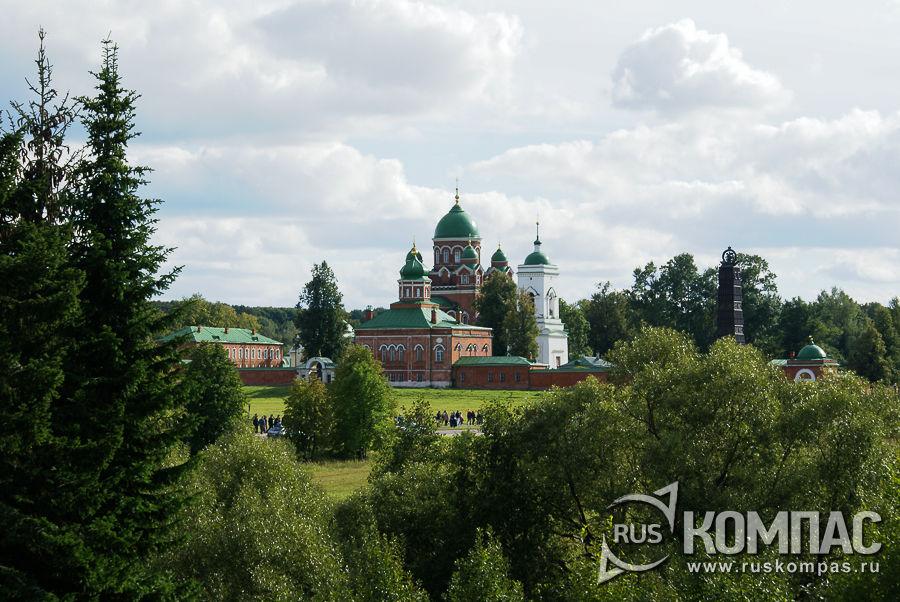 Спасо-Бородинский монастырь, основан в 1838 г. М.М. Тучковой, вдовой генерала А.А. Тучкова