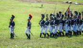 Московский драгунский полк в пешем строю