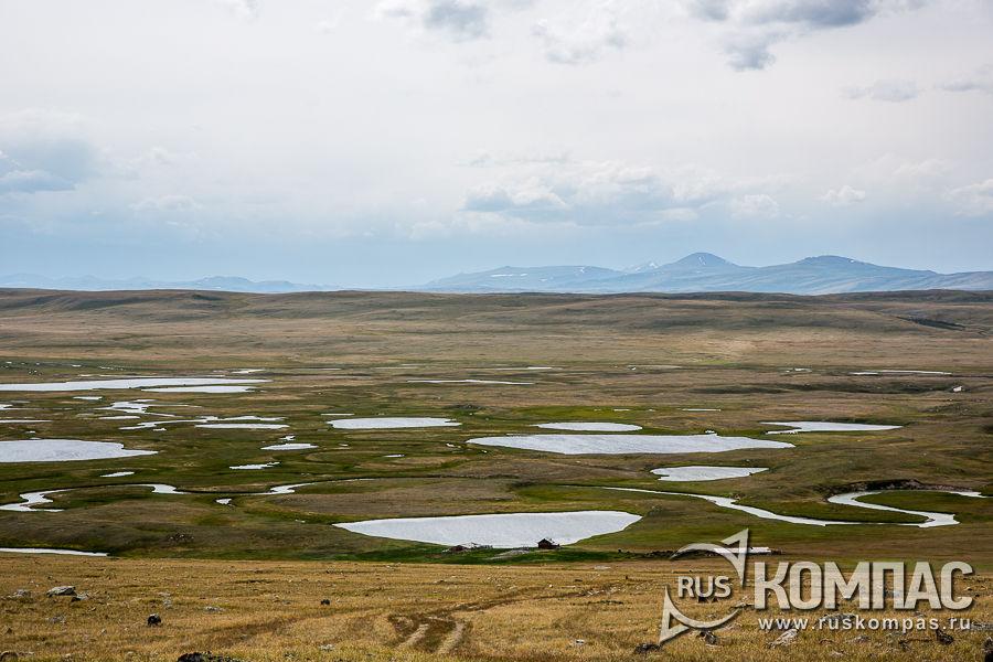 Озера в долине реки Калгуты
