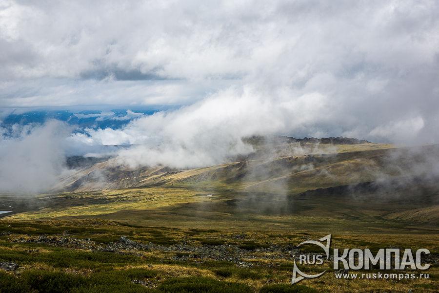 На перевале Бугымуюз после дождя