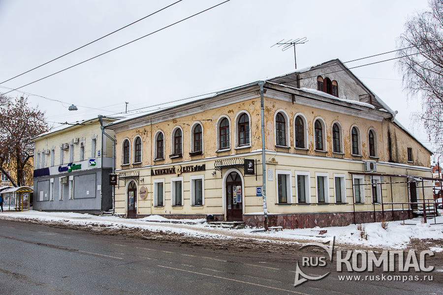Дом Н. Н. Ухова, 1856 г. (ул. Преображенская 15)