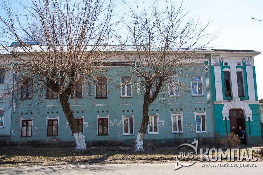 Здание первой полотняной фабрики Игумнова, 1755 год