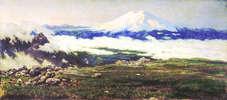 Картина Николая Ярошенко «Шат-Гора (Эльбрус)»