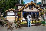 «Хлебное место» на Тверской площади