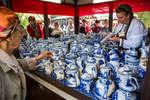 Павильон гжели на фестивале «Наш продукт»