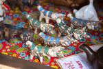 Глиняные фигурки на фестивале «Наш продукт»