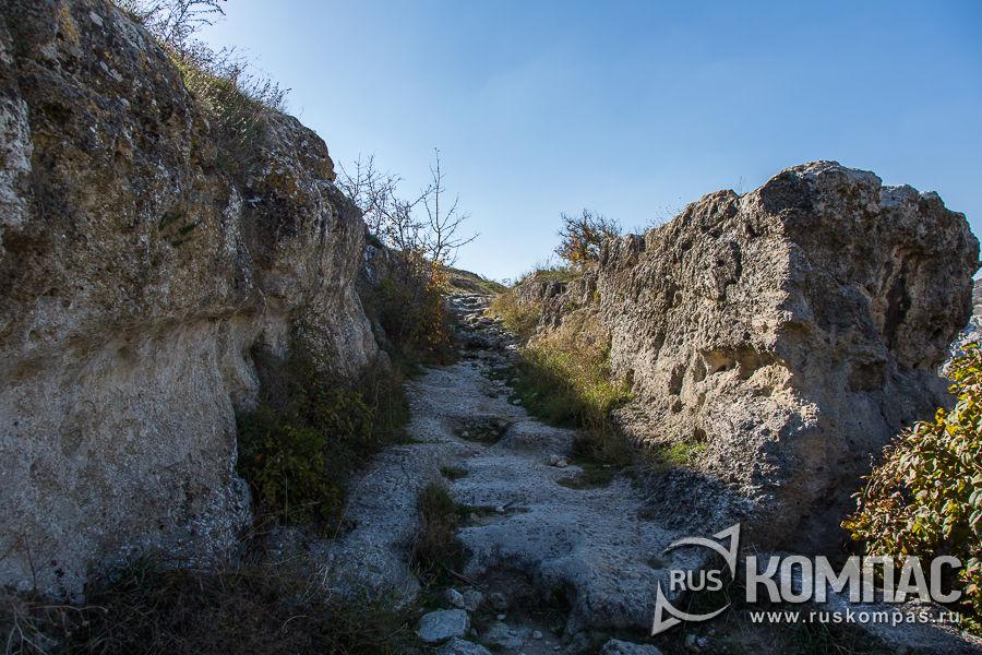 Древний подъем на плато