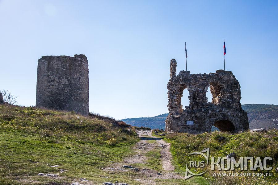 Крепость Каламита в Инкермане