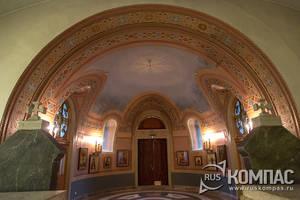 Интерьер нижнего храма Владимирского собора в Херсонесе