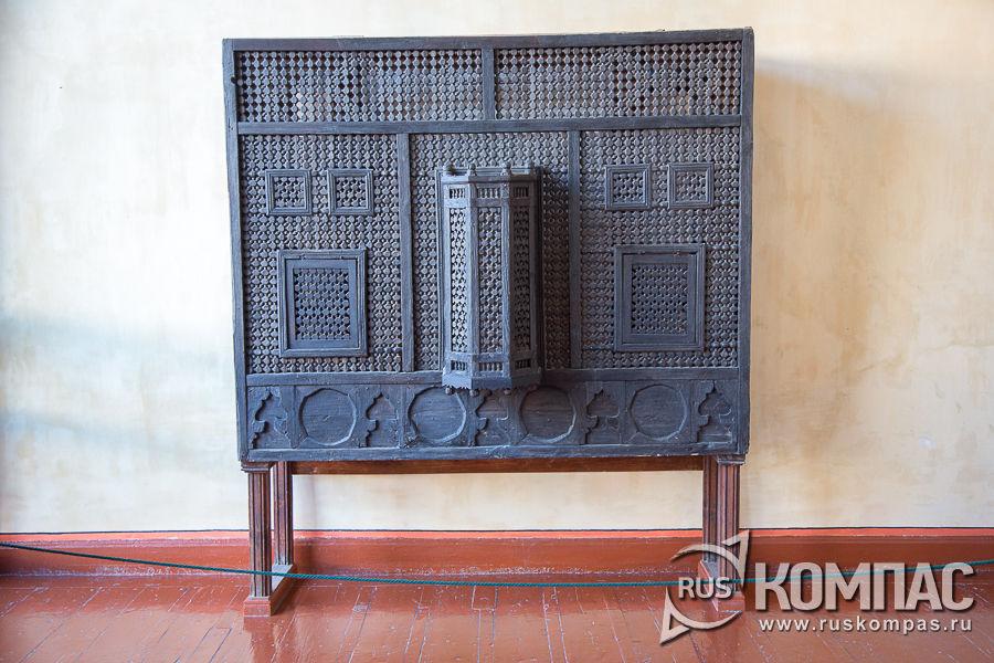 Мушараби – декоративные ставни, украшавшие гарем снаружи
