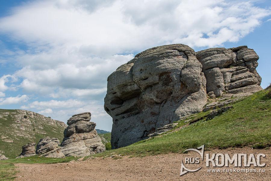 Каменные сфинксы Демерджи