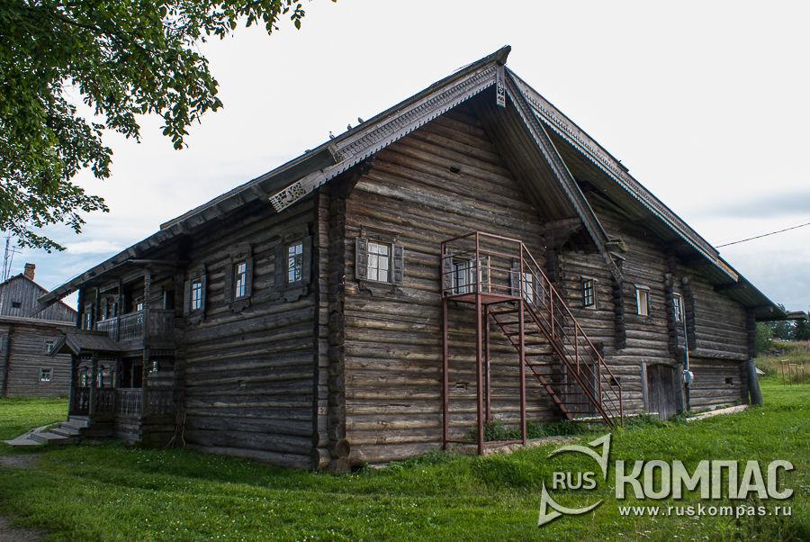 Дом Ананьевой из д. Красная Сельга, расположенной в деревне Ямка