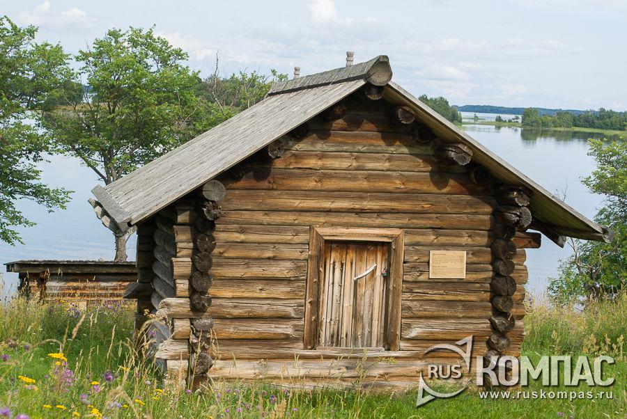 Амбар Белошеева из д. Пялозеро, XIX век, 2-я половина