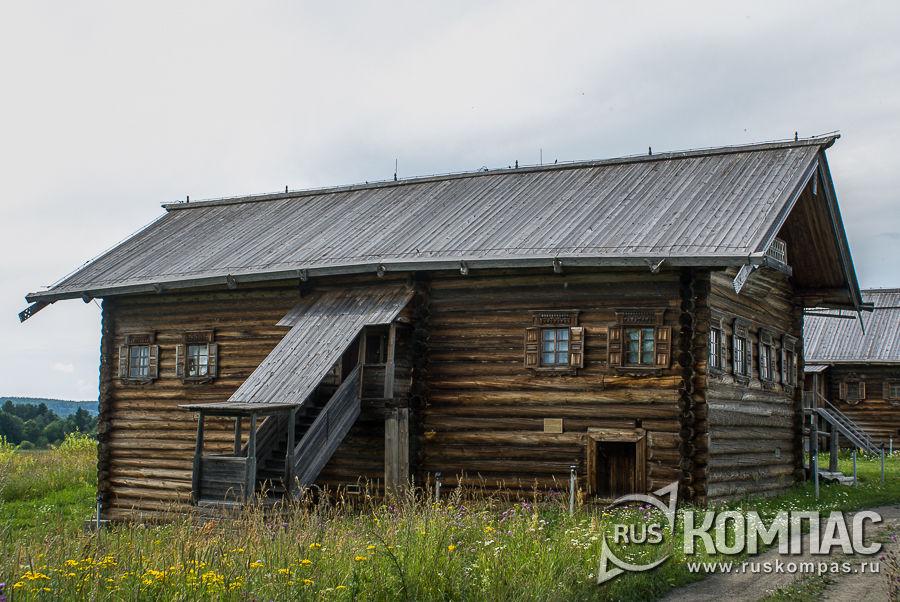 Дом Бутина из д. Пялозеро, XIX век, 2-я четверть