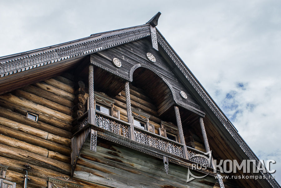 Балкон дома Сергина