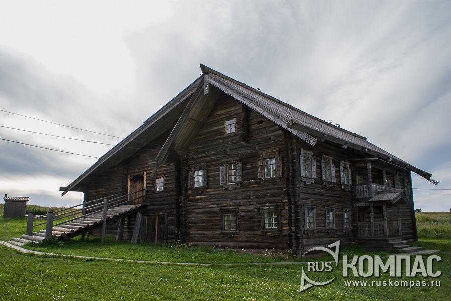 Дом Ананьевой из д. Красная Сельга, Конец XIX - начало XX веков