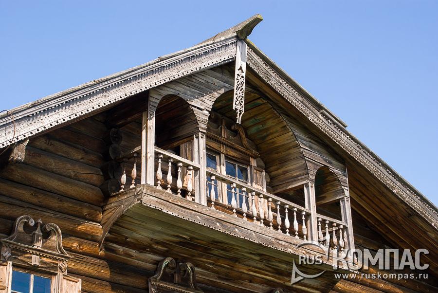 Еще один балкон дома Ошевневых