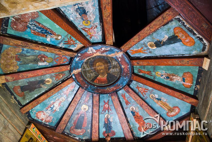 Небо в часовне Михаила Архангела