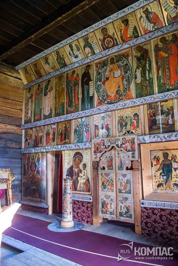 Икностас Храма Покрова Богородицы