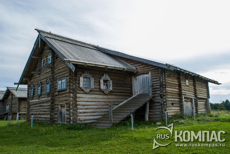 Дом Поташева из д. Пяльма, 1879 г.