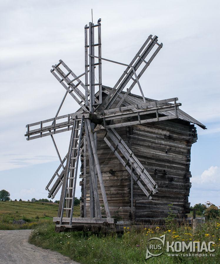 Мельница ветряная из д. Вороний остров