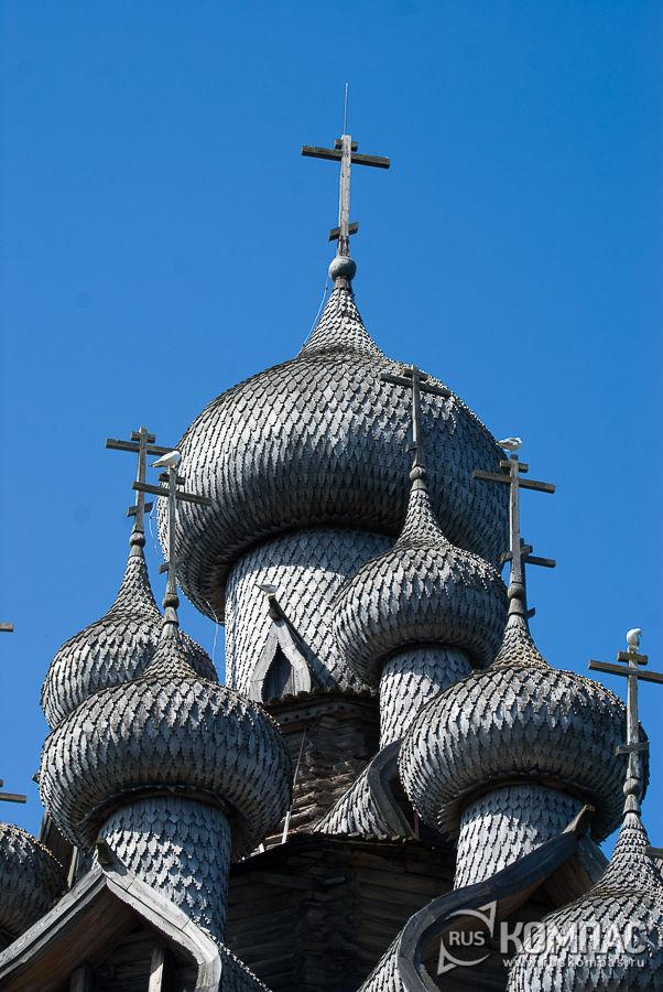 Центральный купол Церкови Преображения Господня