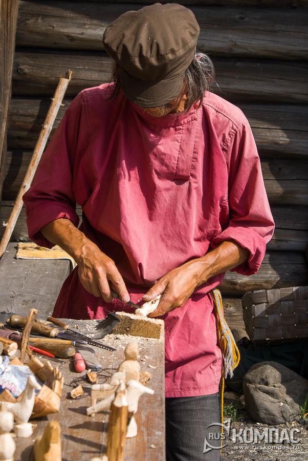 Изготовление деревянной игрушки