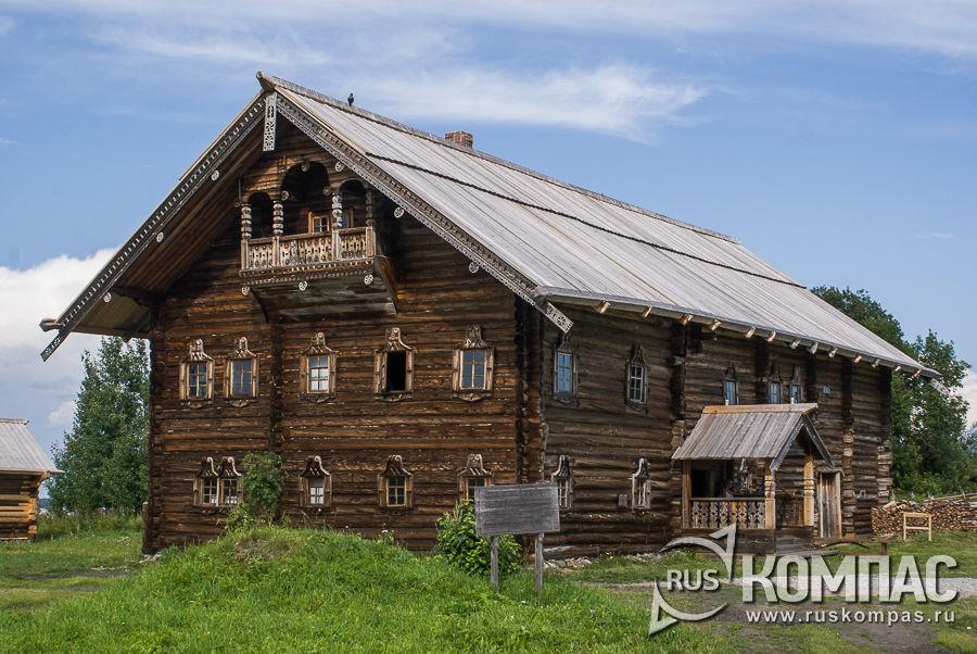Дом Яковлева из д. Клещейла, 1880-1900 гг.