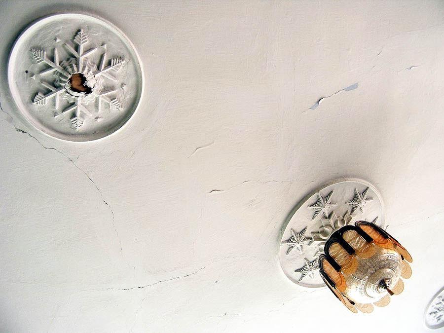 «Леонидовские» снежинки на потолке Тверского Дворца пионеров