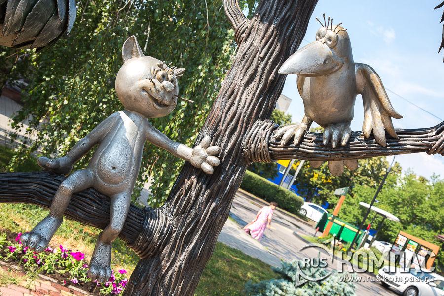 Котенок с улицы лизюкова памятник фото