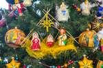Новогодние игрушки «Святое семейство»